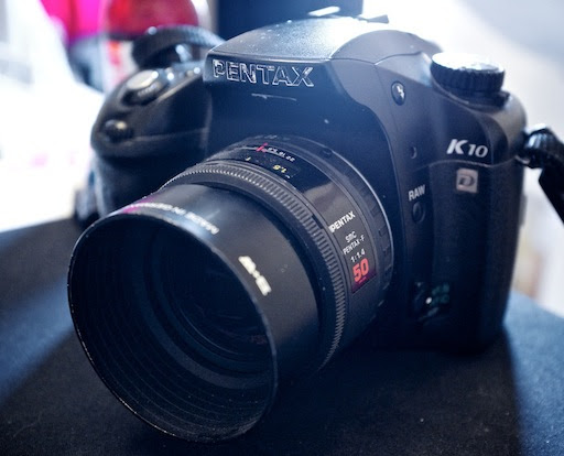 K10D with F 50mm f/1.4