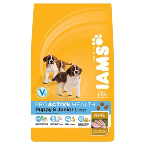 iams puppyjunior large breed complete dog food  burnhills