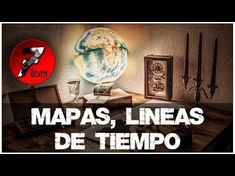 MAPAS - LINEAS DE TIEMPO Y ARBOLES GENEALOGICOS
