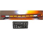 """49"""" Amber 86 LED Light Bar Flashing Warning Emergency Light w/ Brake Turn Signal"""