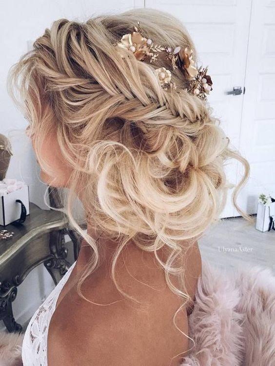 10 Pretty Braided  Hairstyles  for Wedding  Wedding  Hair