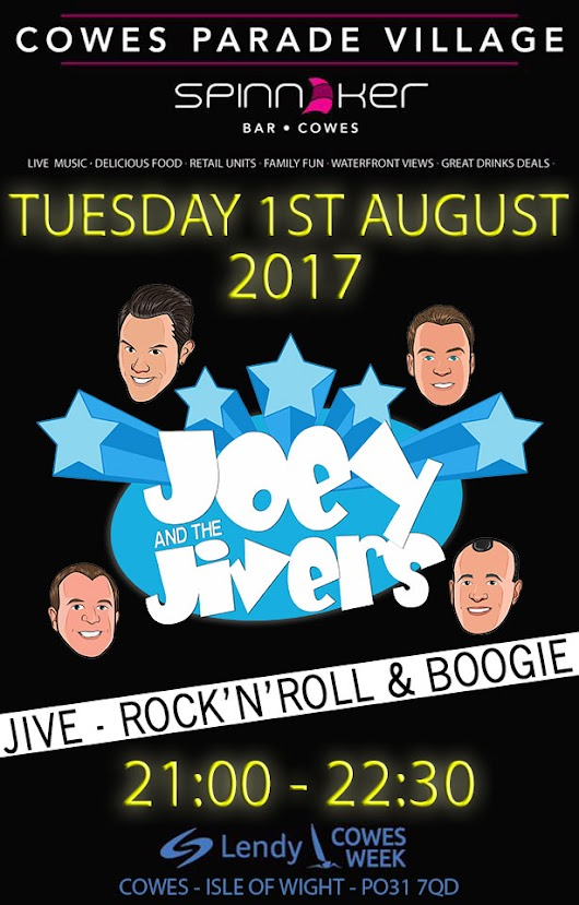 UK Jive Band | Rock and Roll | Joey and the Jivers  | Cowes Parade Village 2017