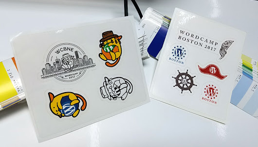 Wapuu Down Under at WordCamp Brisbane and Patriotic Stickers heading to WordCamp Boston