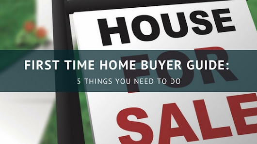 First time home buyer - Tips to help when buying your first home