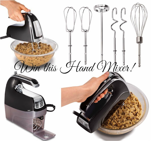 Hand Mixer Giveaway! {Jeepers January Giveaway Hop} - With Our Best - Boulder Denver Lifestyle Blog