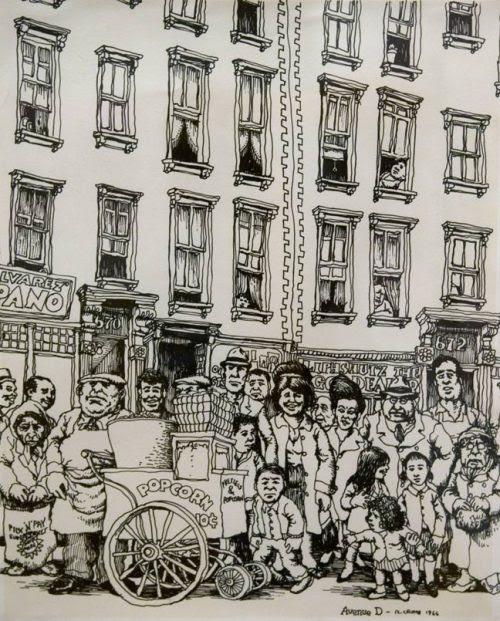 Avenue D, New York, 1966