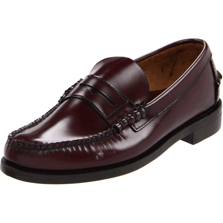 Sebago Sebago Mens Classic Leather Loafer in Brown for Men ...