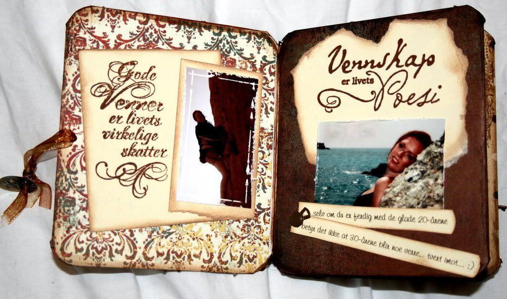 To flotte bilder av jubilanten Kamilla Beate med vennedikt og oppvarming til hintene...