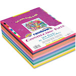 Pacon - Rainbow Super Value Construction Paper Ream, 45 lb,