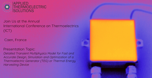 Join Us at the 37th Annual International Conference on Thermoelectrics (ICT 2018) | Applied Thermoelectric Solutions LLC