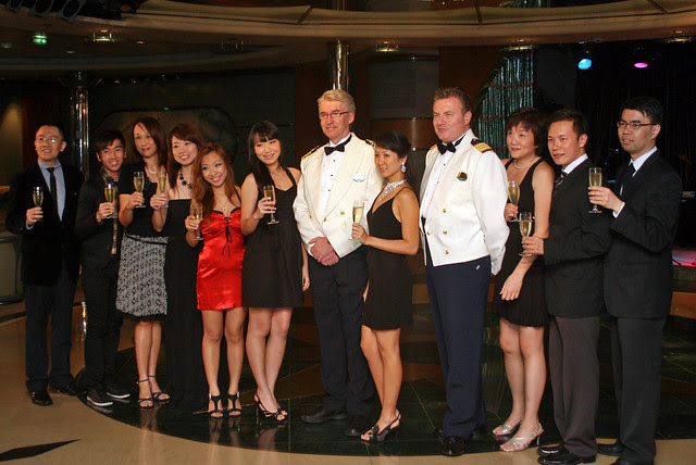 The Captain's Gala night