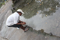 Catching Crabs at Carter Road Bandra by firoze shakir photographerno1