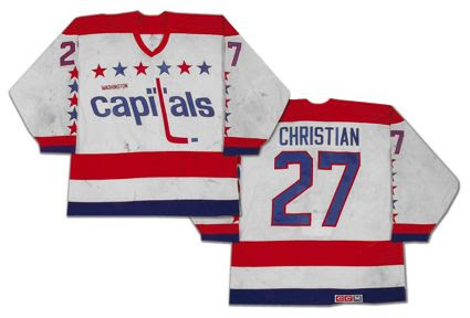 Washington Capitals 85-86 jersey