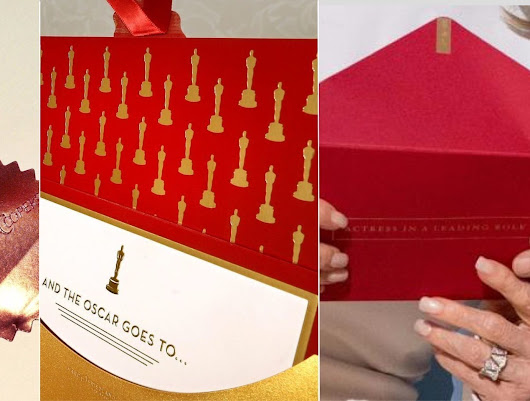 Was Oscar's best picture disaster simply the result of poor envelope design?