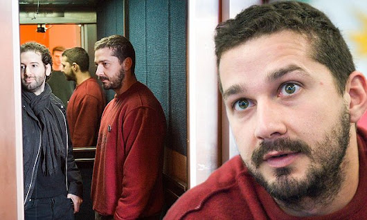 Actor Shia LaBeouf occupies Oxford University lift for 24 HOURS