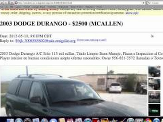 Craigslist Mcallen Used Cars For Sale By Owner Local Prices There Are Pl