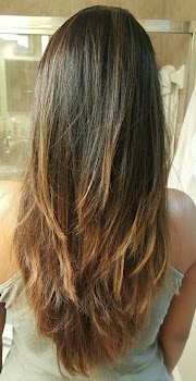 Top Inspiration 55+ Long Layered Hair V Cut
