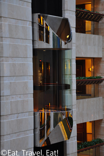 Island Shangri-La: Glass Elevators