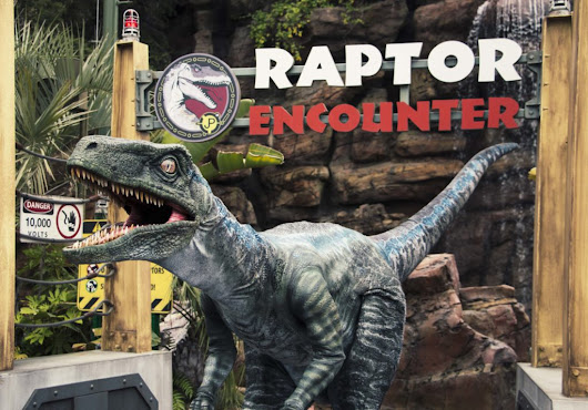 Rumble With A Raptor at Universal Studios - Family Review Guide