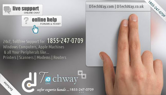 Computer Support Service +1855–247–0709 Windows® PC Repair at DTechWay