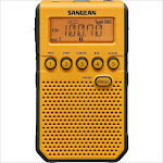 Sangean DT-800YL AM-FM Weather Alert Pocket Radio (Yellow)