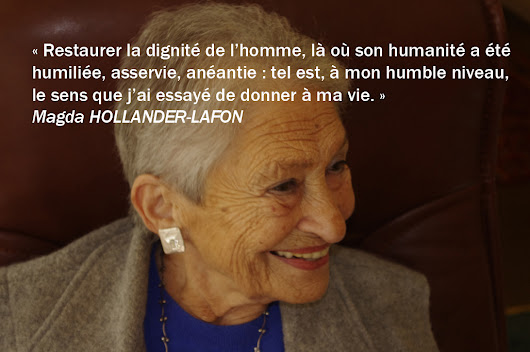 Paroles inspirantes… de Magda Hollander-Lafon