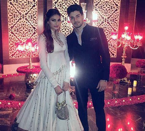 Shahid Mira glam up Masaba's wedding celebrations   Rediff