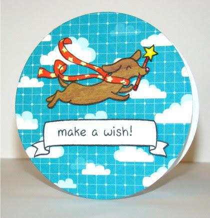 make a wish card - ls