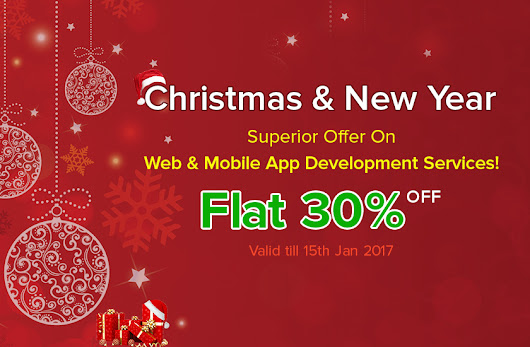 » Christmas and New Year 2017 Offers For Web design And Mobile App Development