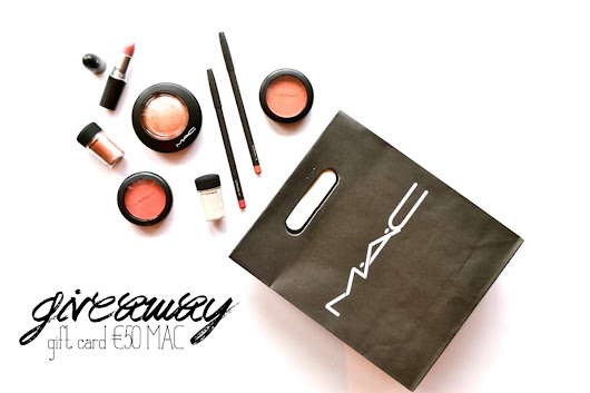 Giveaway - 50€ MAC gift card - personal / lifestyle /DIY