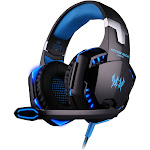 each g2000 over-ear gaming headset with mic
