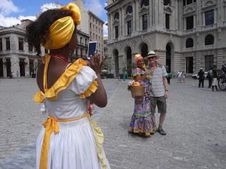 Mick gets nabbed by Havana ladies
