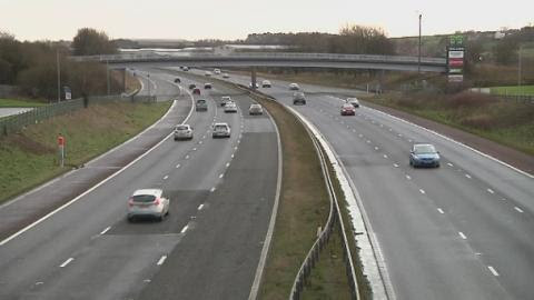 Warning to motorway users after scammers target drivers