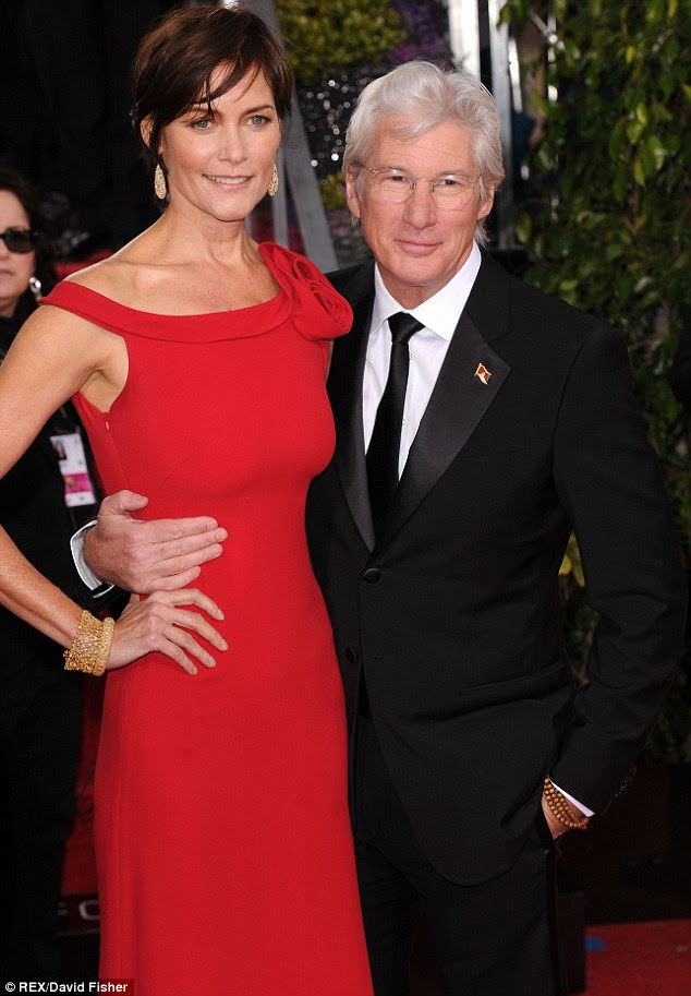 Divorce: Richard Gere and Carey Lowell have split up after 11 years of marriage