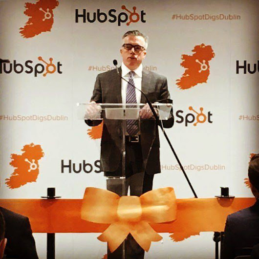 Marketing objectives in today's landscape further validated by HubSpot's expansion in Dublin