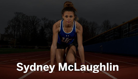 Sydney McLaughlin breaks the national record in the 400
