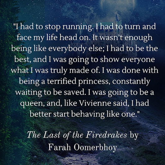 Book Blitz + Giveaway - The Last of the Firedrakes (The Avalonia Chronicles #1) by Farah Oomerbhoy