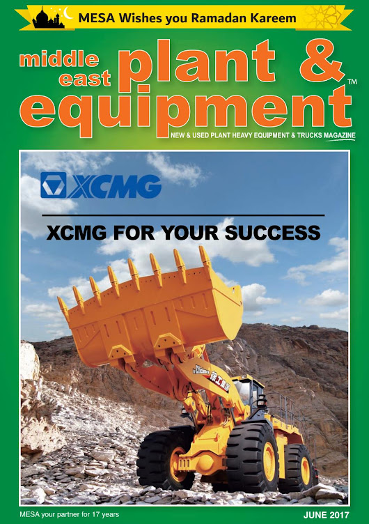 Middle East Plant & Equipment - June 2017 Edition