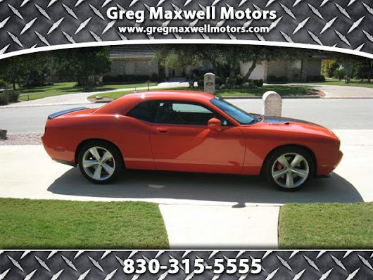 Used 2009 Dodge Challenger for Sale in Kerrville TX 78028 Greg Maxwell Motors