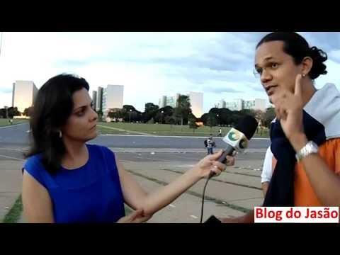 O que a imprensa não mostra: Prof. Camarense Israel Neto, concede entrevista de 3 minutos a Rede CNT em Brasilia e a mesma publica apenas 10 segundos.