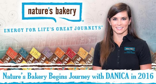 Danica Patrick has signed a multi-year sponsorship deal with Nature's Bakery for the 2016 NASCAR Sprint...
