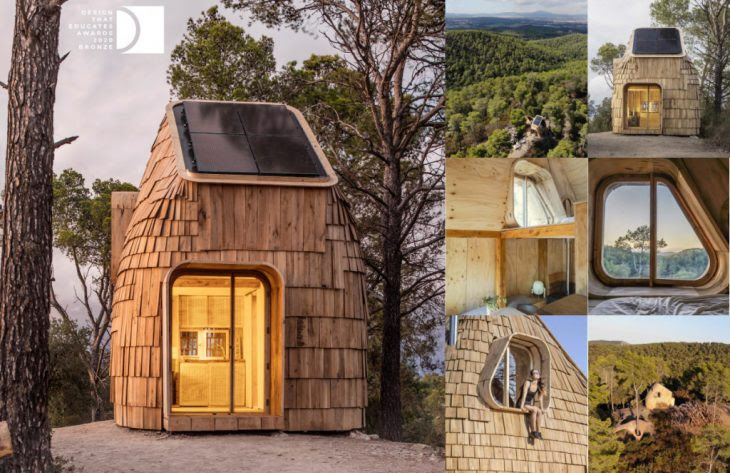 Tiny House Produced By Maeb 2018 19 Wins Bronze Prize From The Design That Educates Awards Iaac Blog