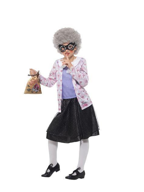 Gangsta Granny David Walliams Costume