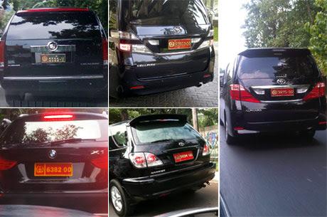 Kumpulan Mobil Mewah Jendral TNI