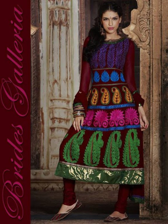 Brides Galleria Latest New Punjabi Suits Fashionable Collection for Girls-Womens Wear Dress12