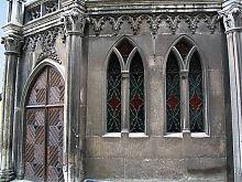 Вхід до каплиці кам'янець-подільського кафедрального собору св. Петра і Павла