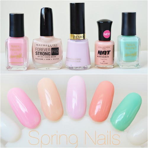 spring nail polish picks 2012 swatches