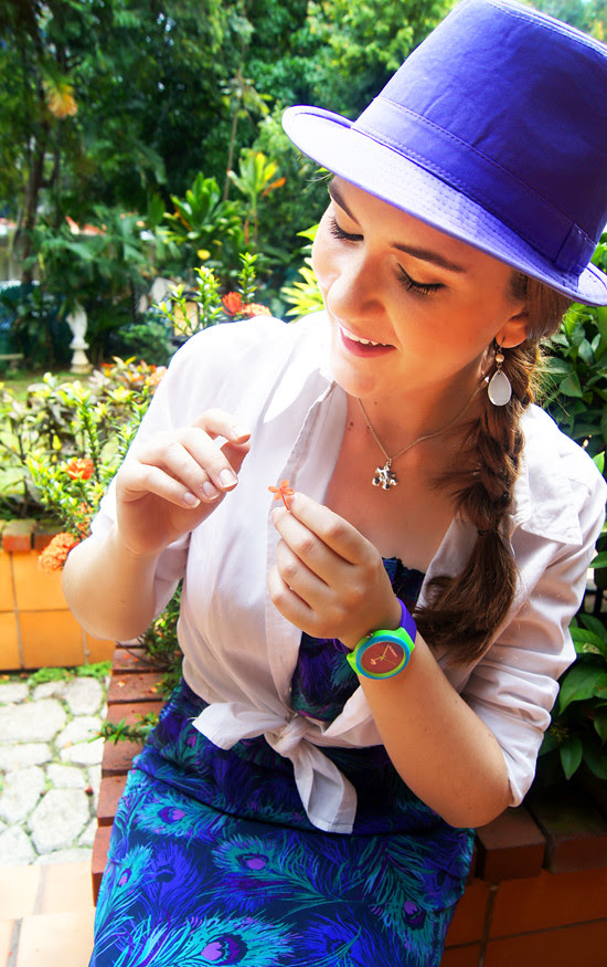 Lilac Hat by The Joy of Fashion (6)