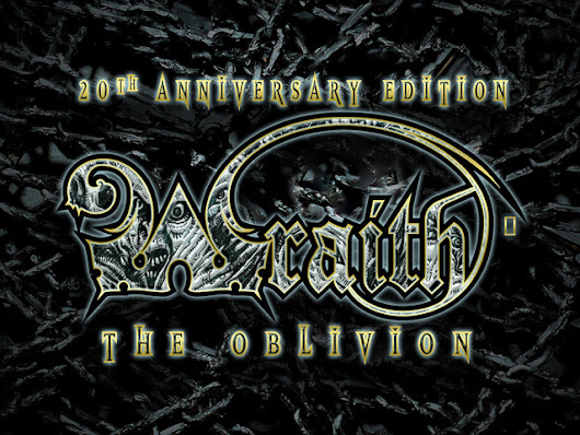 Deluxe Wraith: the Oblivion 20th Anniversary Edition by Richard Thomas — Kickstarter