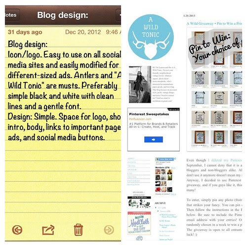 The Blog Redesign.